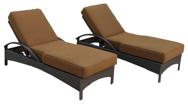 Catalina 2 Piece Chaise Lounge Group With Cushion.