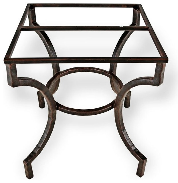 Corinthian Dining Table Base Only Craftsman Table Tops And Bases By Timeless Wrought Iron