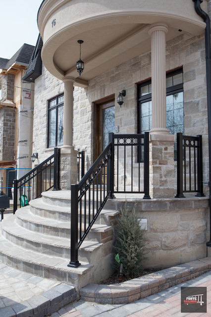 Aluminum Front Porch Railings
