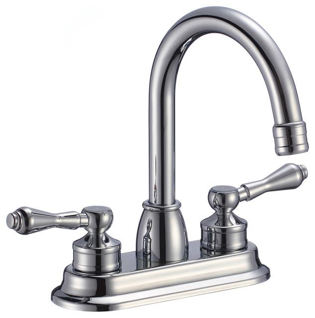 Rennes Dual Handle Solid Brass Bathroom Sink Faucet