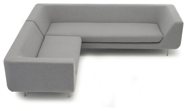 Modus bernard corner sofa system for Bernard chaise lounge
