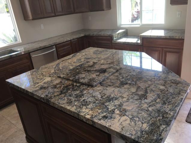 Huntington Beach Marble Counters