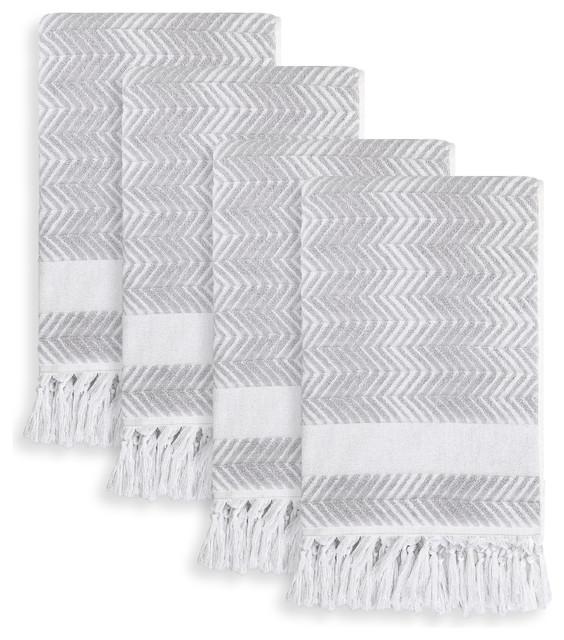 307964d90d89 Linum Home Textiles Assos Hand Towels, Set of 4 - Contemporary ...