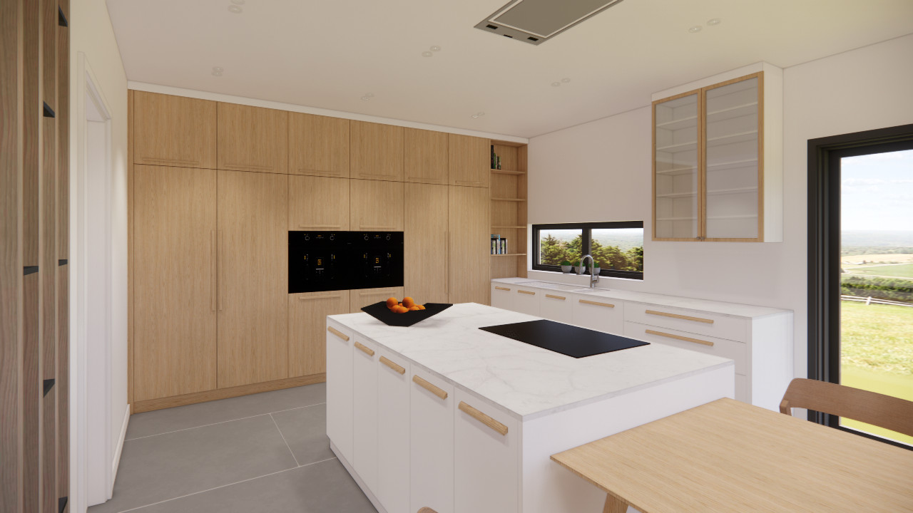 CAD and 3D Rendering service for Lethenty Cabinetmakers