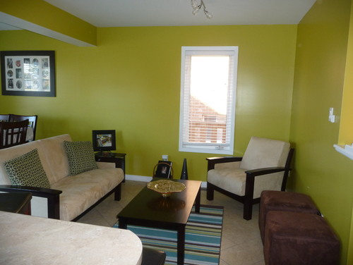 Paint colour help please! Need ideas for family room/dining room ...