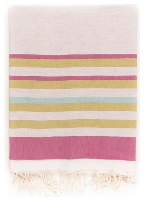 Spirit Peshtemal Towel, Fucshia.