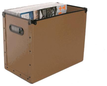 Cargo Naturals Desktop Storage Box - Nutmeg Brown.