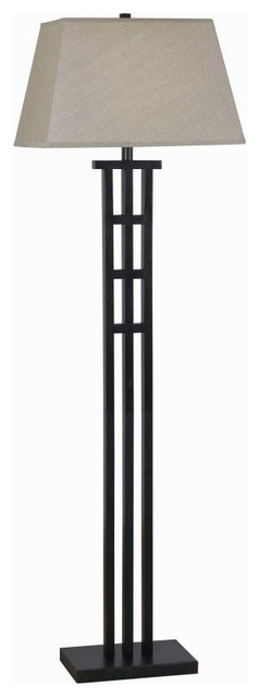 Kenroy Home 32158 Mcintosh 1-Light Floor Lamp, Bronze.