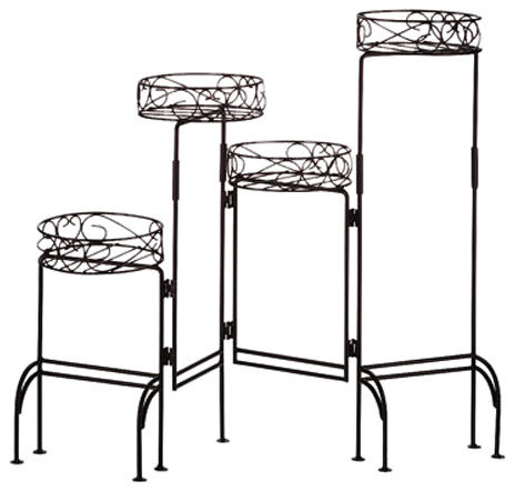 Four-Tier Plant Stand Screen. -2