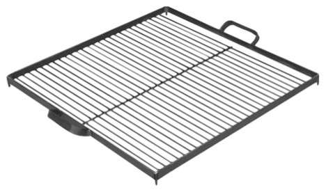 """Cook King 1112262 Black Steel Grill Grate For Fire Bowl, 22.8""""."""