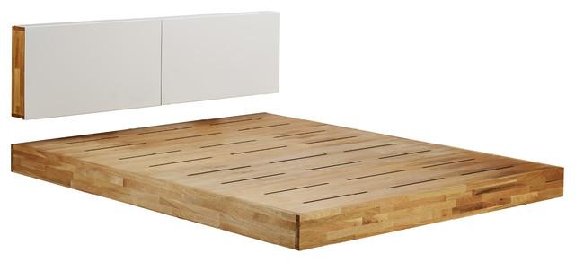 Mash Lax Modern Solid Wood Platform Bed Modern Platform Beds
