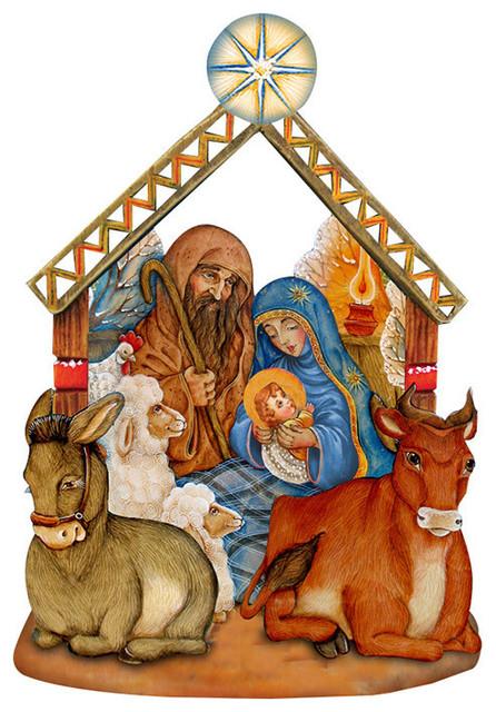 Nativity Door Hanger.