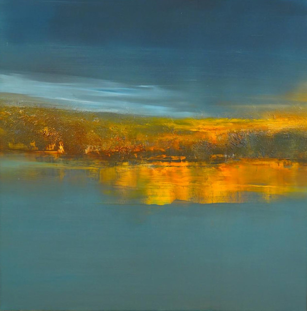 Quot Harbor Lights Quot Signed Print By Maurice Sapiro 15 Quot X10