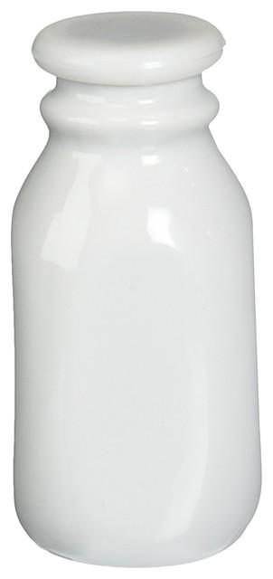 Bia Cordon Bleu Inc 8 Oz Porcelain Milk Bottle, Porcelain.