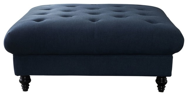 Parisian Coffee Table, Dark Blue.