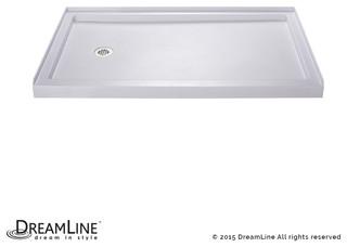 "Dreamline Slimline 30""x60"" Single Threshold Shower Base ..."