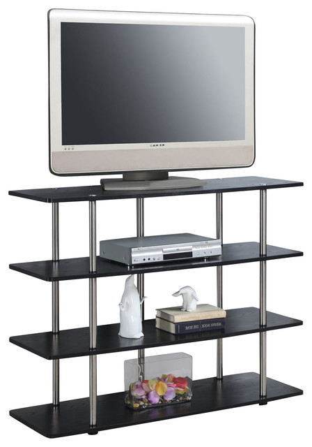 Convenience Concepts Xl Highboy Tv Stand X 273131 Contemporary