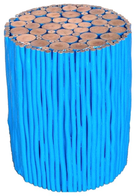 Natural Stick Stool Contemporary Furniture by Asian  : contemporary furniture from www.houzz.com size 446 x 640 jpeg 75kB