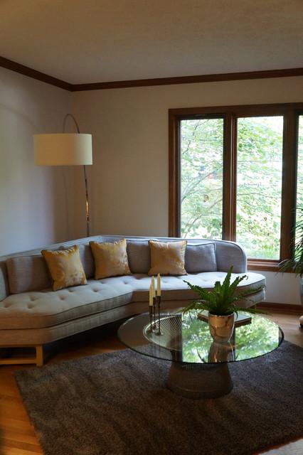 Home design - transitional home design idea in Indianapolis