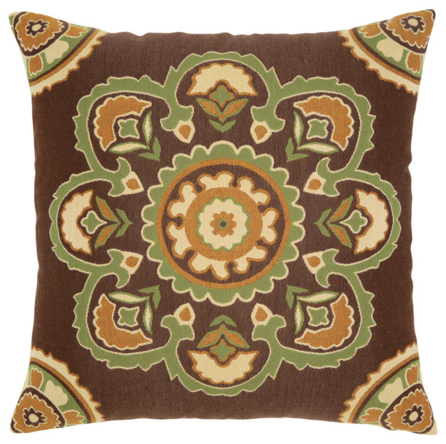 Elaine Smith Bukhara Pillow - Traditional - Outdoor Cushions And Pillows - by Elaine Smith