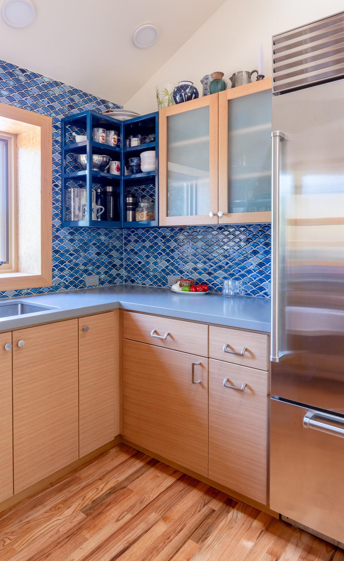 Los Altos Hills Galley Kitchen