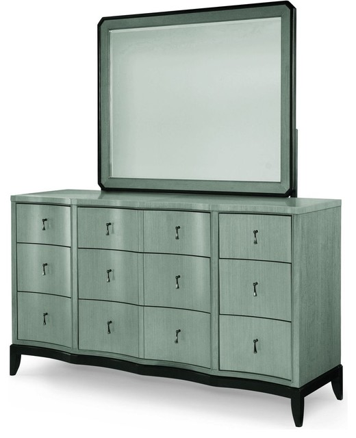 Legacy Classic Symphony Dresser With Mirror.