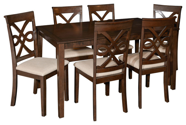Leighton 7-Piece Dining Set.