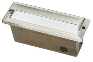 Die Cast Brass Stainless Steel LV Brick Step Light LV-61
