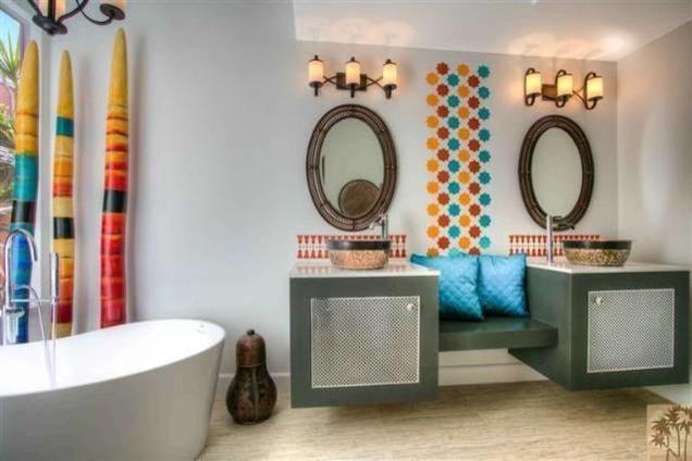 Modern Moroccan Bathroom Design palm desert modern moroccan bath
