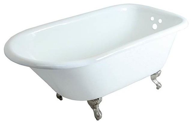 Classic Roll Top Clawfoot Tub.