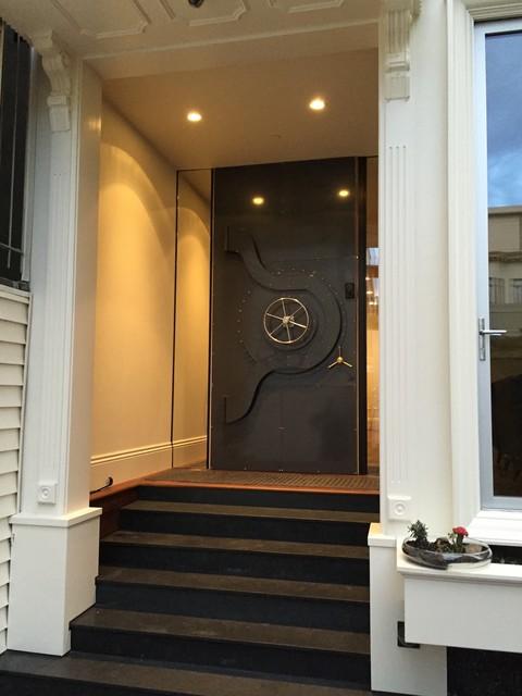 Bank Vault Front Door modern