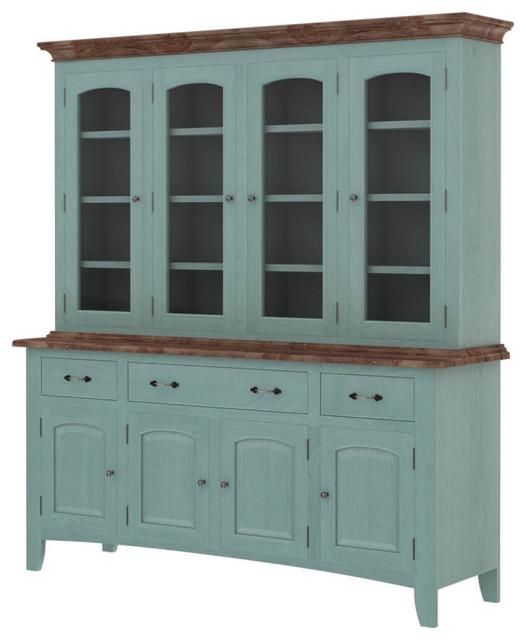 Meriden Solid Mahogany Wood Dining Room, Mahogany Dining Room Cabinet