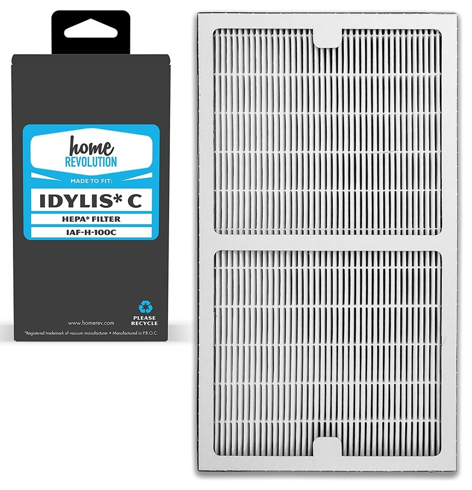 Hepa Air Purifier Filter Compare to Idylis Type C IAF H 100C
