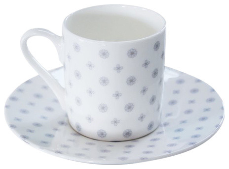 Charlotte Chintz Espresso Cup and Saucer