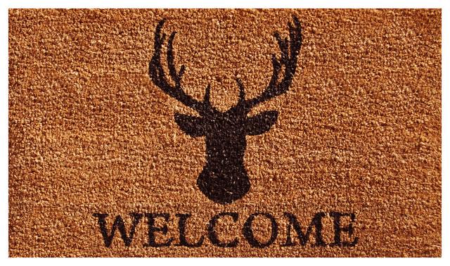 Deer Welcome Doormat.