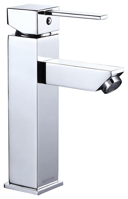Modern 1 Hole Bathroom Faucet Vanity Sink Basin Single Handle Home Diy Contemporary Bathroom Sink Faucets By Yescom Houzz