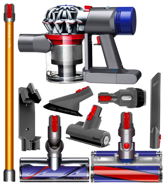 dyson dyson v8 absolute cordless vacuum reviews houzz. Black Bedroom Furniture Sets. Home Design Ideas