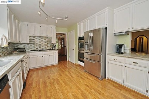 Need kitchen remodel ideas for galley kitchen with hole in the wall