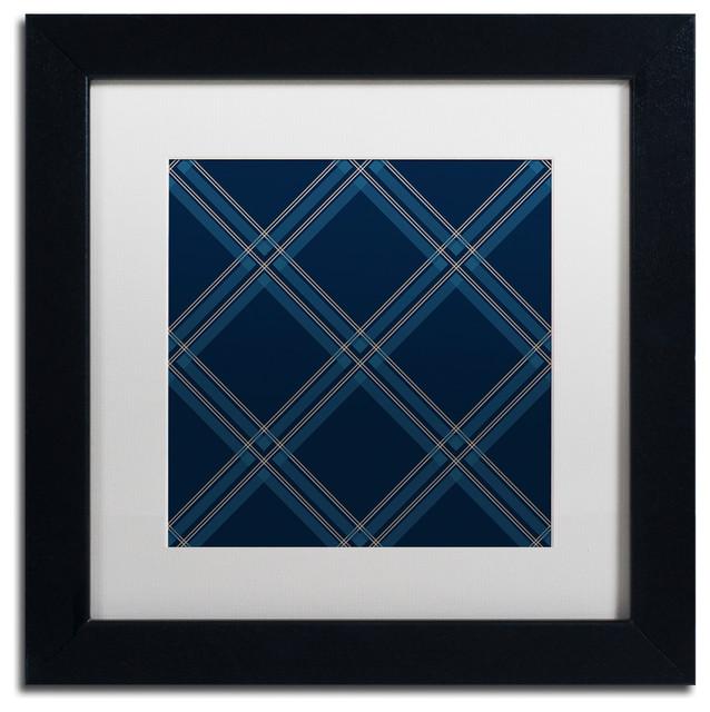 Jennifer Nilsson 'Dk Blue Diamond' Art