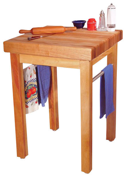 Catskill Craftsmen French Country Butcher Block Work Table