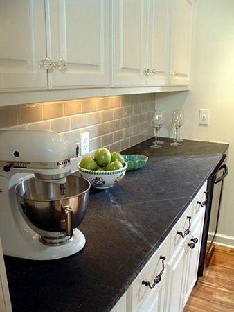 Soapstone Countertop rustic-kitchen