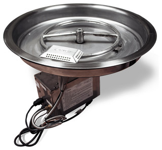 fire pit accessories starfire direct 19 quot electronic pit insert 12 10327