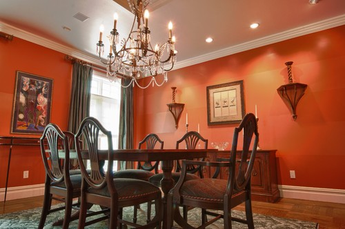 Living Room Colors That Go Together wall color for living room, dining room & kitchen