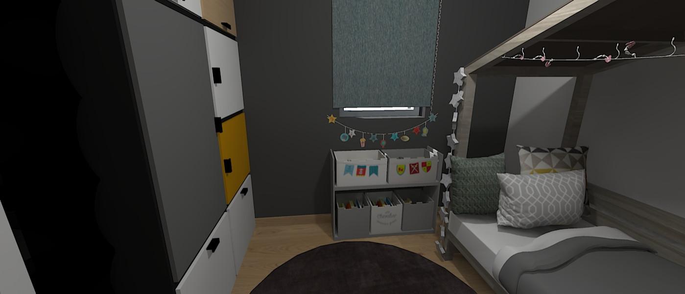 Aménagement d'une maison dans l'Oise - chambre d'enfant