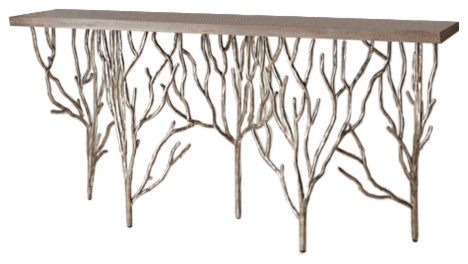 Forest Console Table Contemporary Console Tables