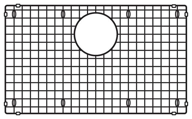 Merveilleux Blanco Precis Sink Grid, Stainless Steel, ...