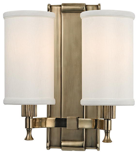 Wall Sconces Transitional : Palmdale 2-Light Wall Sconce - Transitional - Wall Sconces - by Hudson Valley Lighting