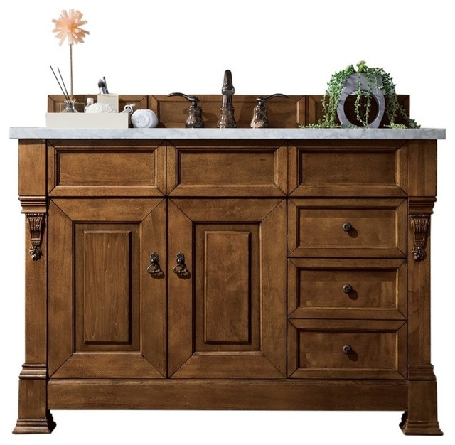 "Wentworth Bathroom Vanity, No Top, 48""."