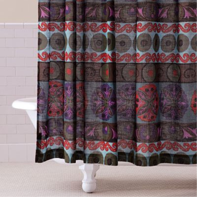 Curtains Ideas cost plus curtains : Guest Picks: Shower Curtains to Lust After