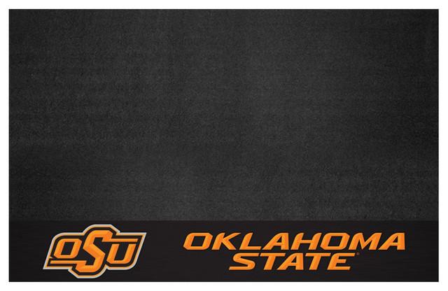 "Kitchen Oklahoma State Grill Mat 26""x42""."